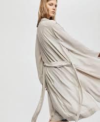 robe de chambre satin robes de chambre collection printemps été oysho