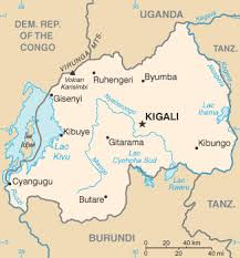 map of cities list of cities in rwanda