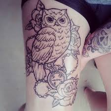 33 beautiful thigh tattoo