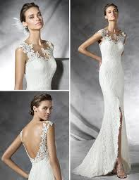 tattoo effect wedding dresses pronovias