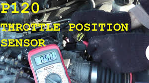 nissan altima 2005 radio wiring how to test and replace the throttle position sensor tps p0120