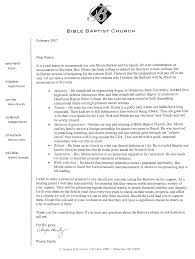 recommendation letter from pastor image collections letter