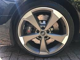 audi titanium wheels audi genuine 19 x 8 5 arm rotor matt titanium wheels in isle