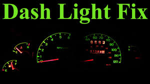 2002 ford taurus dash lights meaning how to replace dashboard lights in depth youtube