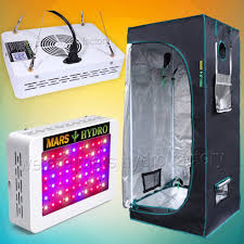 kit chambre de culture led mars hydro reflector 240w led grow light panel hydro 70x70x160