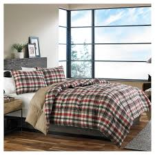 Houndstooth Comforter Plaid Bedding Comforters And Bed In A Bag Sets