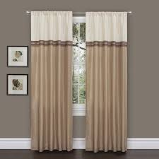 Two Curtains In One Window Amazon Com Lush Decor Terra Curtain Panel Pair 54 Inch By 84