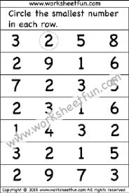 number u2013 greater u0026 smaller free printable worksheets u2013 worksheetfun