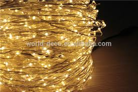 3v micro string lights battery operated copper wire light