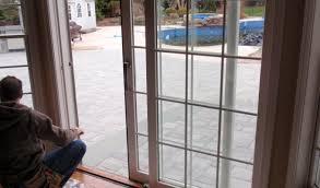 door astonishing retractable sliding patio door screens pella