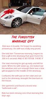 wedding gift jokes the forgotten marriage gift joke marriage lol