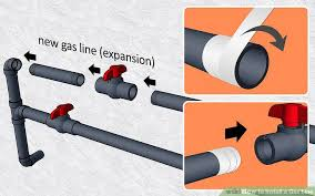 How To Replace Gas Cooktop How To Install A Gas Line 6 Steps With Pictures Wikihow