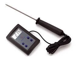 thermometre sonde cuisine thermomètre de cuisson sonde électronique matfer 50 c à 200 c