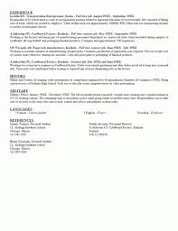 Recent College Graduate Resume Sample by High Graduate Resume After John Does New And Improved