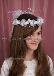 communion headpiece communion headpiece with ribbon streamers communion