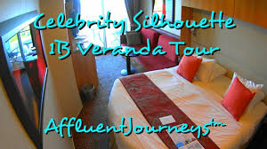 Celebrity Reflection Floor Plan Celebrity Silhouette 1b Veranda Tour In 1080p Youtube