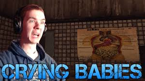 the room crying babies indie horror game commentary facecam