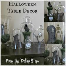 Stores For Decorating Homes The Pin Junkie Dollar Store Halloween Decor Tablescape
