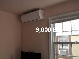 fujitsu wall mounted air conditioner installation of fujitsu hfi aou48rlxfz 48 000 btu system all house