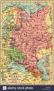 Map Of Russia And Europe by A 1930 U0027s Map Of Russia In Europe And The New Baltic States Stock