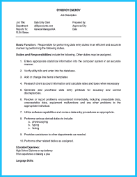 Data Entry Resume Sample by Sample Resume For Data Entry Operator Free Resume Example And