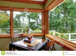 corner with dining table set stock photo image 45108926
