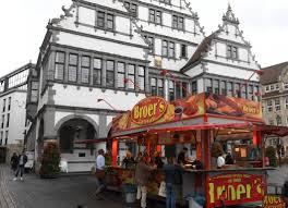 Standesamt Bad Oeynhausen Bratwurst Vor Dem Paderborner Rathaus Paderborn Neue Westfälische