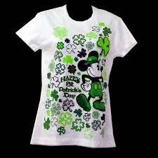 your wdw store disney ladies shirt st patrick u0027s day mickey mouse
