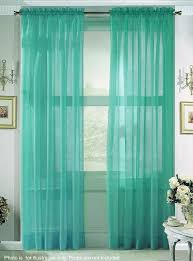 Turquoise Sheer Curtains Summer Bedroom Décor Aqua Curtains Bedroom Turquoise And Window