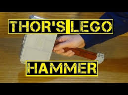 thor s lego hammer youtube