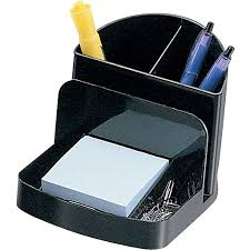 Staples Desk Organizers Staples Black Recycled Plastic Desk Collection Deluxe Desk