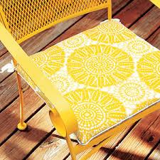Make Cushions For Patio Furniture How To Make Chair Cushions Allyou Com