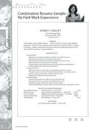 Resume Template For Students With Little Experience Sample Resume No Work Experience College Student High