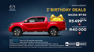 mazda finance mazda bt 50 birthday deal retail offer youtube