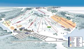 Colorado Ski Resort Map by Trail Map Wilmot Mountain