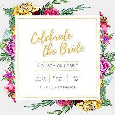 wedding shower invitation template bridal invitation templates bridal shower invitation templates