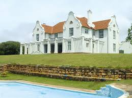 House Of Trelli Cape Dutch Style Home Botha House South Africa Stucco Gable