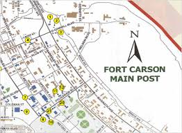 fort carson map shop army air exchange service
