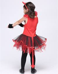 couhunt 2017 devil halloween costumes red cat girls tutu cosplay