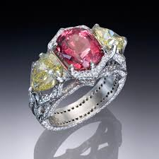 gemstone rings images Colored gemstone ring collection jpg