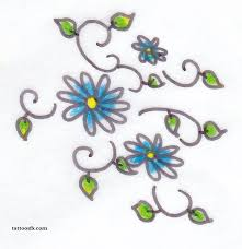 daisy tattoos and designs page 47