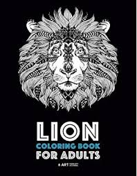amazon lion coloring book adults coloring book