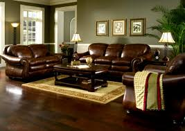 Wood And Leather Sofa Living Room Captivating Living Room Leather Furniture Ideas