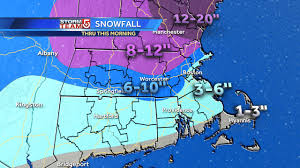 Boston Snow Total Map by Blizzard Watch Winter Storm Warning Issued For Sunday Monday Storm