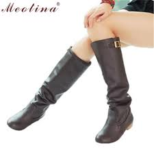 womens brown knee high boots size 11 popular size 11 knee high boots heels buy cheap size 11