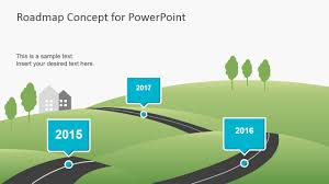 powerpoint template roadmap choice image templates example free