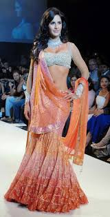 How To Drape A Gujarati Style Saree August 2013 Stylepinch