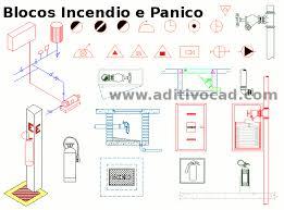 Excepcional Blocos CAD/Dwg Prevenção Incendio para AutoCAD - Download  #VB06
