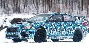 subaru rally snow this is the 2015 subaru wrx sti rally car