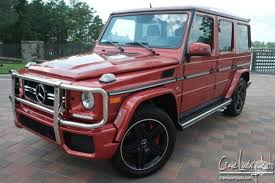 mercedes g wagon red interior 4 mercedes benz g class for sale on jamesedition